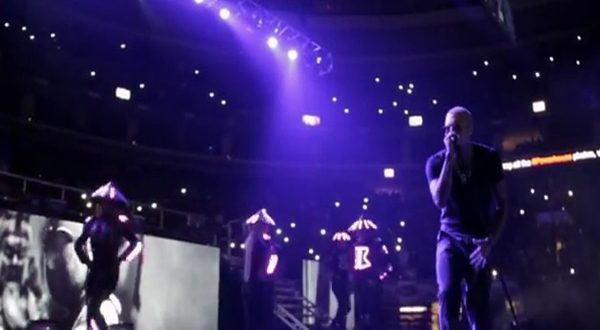 Wale & Chris Brown Perform Live at Powerhouse 2013 (Video)