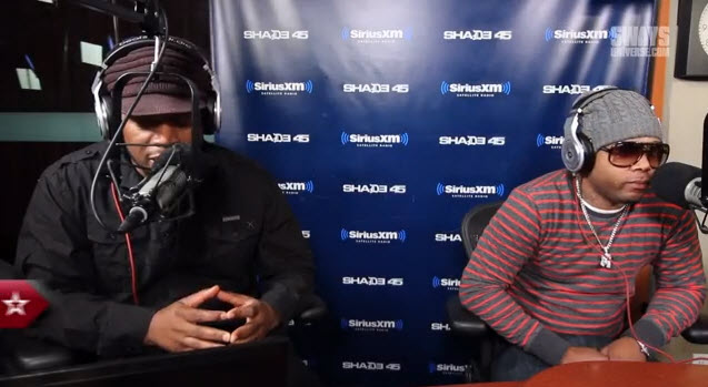 2 Pistols Freestyles Live on Sway in the Morning