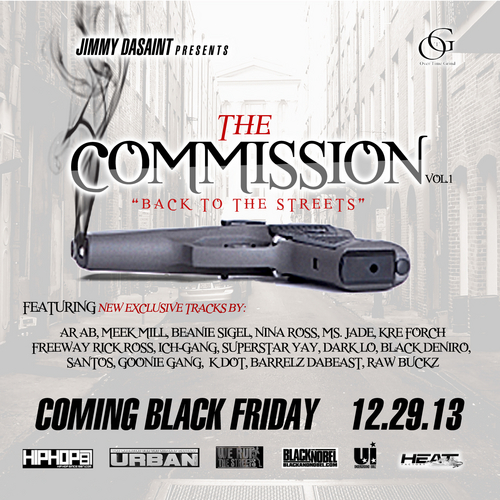 "♫ Mixtape: Various Artists – ""The Commission"" Presented By Jimmy Dasaint"