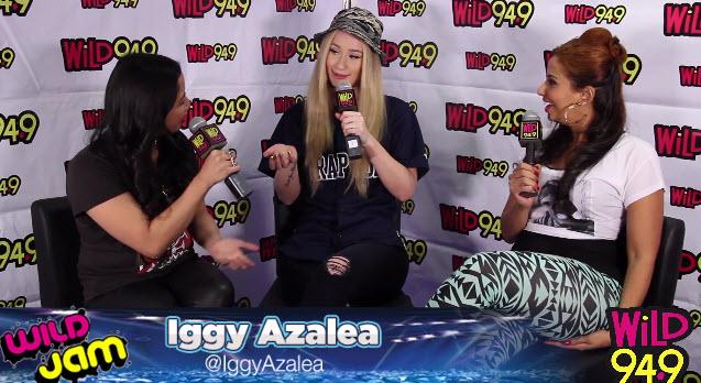Iggy Azalea talks Boys, Booty and Her Baller Boo with Nessa