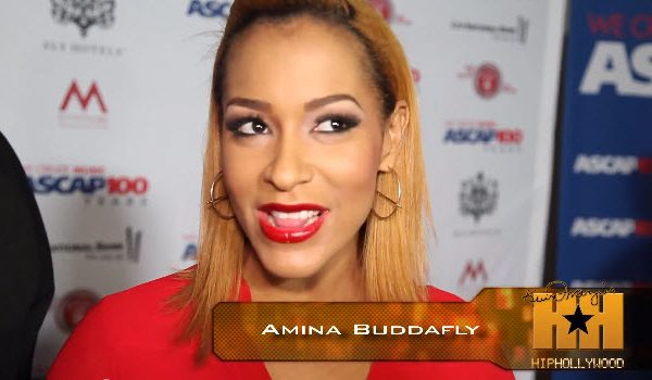 Video: Amina Buddafly Clears Up Pregnancy Rumors with HipHollywood #Getmybuzzup #LHHNY