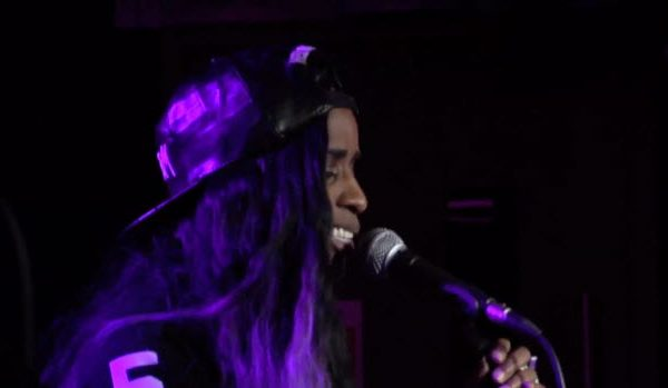 Watch: Angel Haze Covers Beyonce's 'Drunk in Love' Live at the 1Xtra Lounge #Getmybuzzup