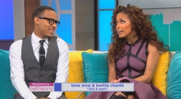 Watch: Bow Wow and Keisha of 106 & Park Play 'The Neverwed Game' on Bethenny #Getmybuzzup