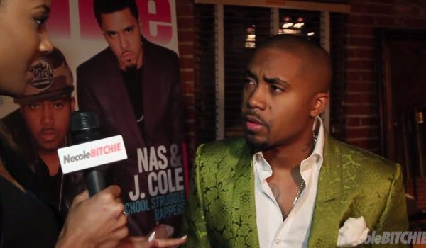 Watch: Nas Honored At Vibe Impact Awards by Swizz Beatz, J. Cole and Busta Rhymes #Getmybuzzup