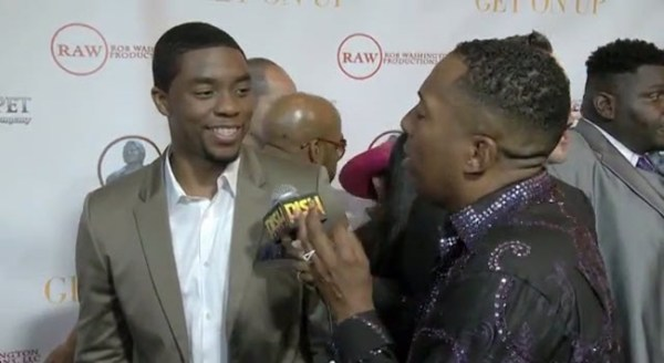 Chadwick Boseman Wants To Play Flavor Flav Next [Video]