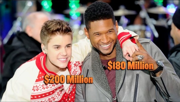 Usher's Feeling The Heat After Taking A Backseat to Justin Bieber [Rumors]