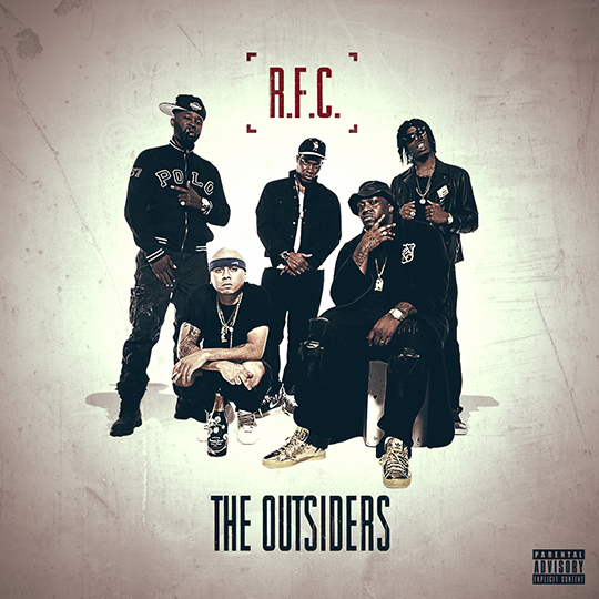 "R.F.C. (Smoke DZA, Al-Doe, NymLo) Ft. Den10 | ""The Outsiders"" [Audio]"