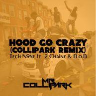 "Mr. Collipark (@RealColliPark) Remixes Tech N9ne, (@TechN9ne) 2 Chainz (@2Chainz) & B.o.B's (@bobatl2) – ""Hood Go Crazy"" [Music]"