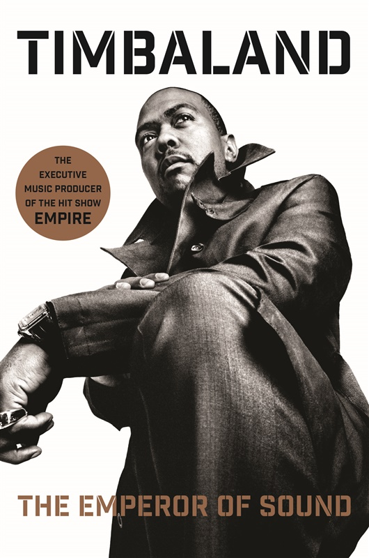 Timbaland to Launch New Book, The Emperor of Sound, at BackStory Live Interview Event