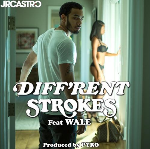 "JR Castro – ""Diff'rent Strokes"" feat Wale [Audio]"