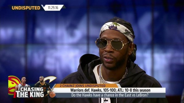 2 Chainz argues the Hawks have a chance against the Cavaliers in the East   UNDISPUTED
