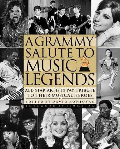 A GRAMMY® Salute To Music Legends Book