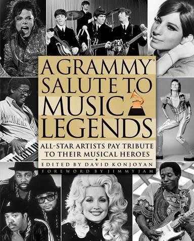 A GRAMMY® Salute To Music Legends Book