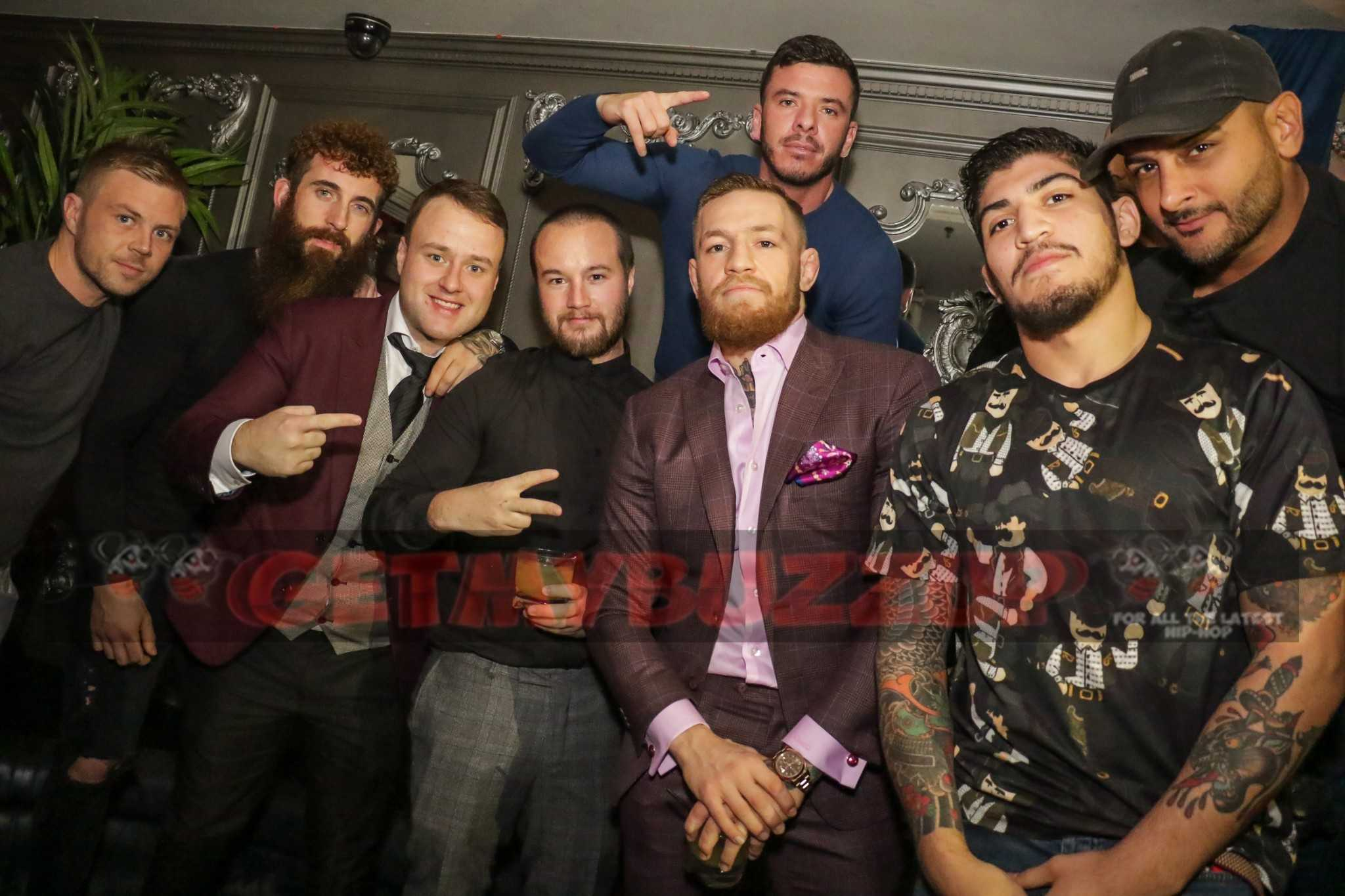 """Conor McGregor Spotted at 1 Oak & Up&Down Last Night – """"I want 100 Million to Box Floyd Mayweather"""" [Photos + Video]"""