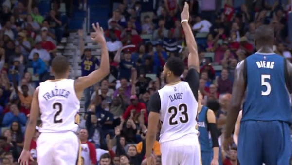 Anthony Davis Racks Up 45 Points as Pelicans Win 4th Straight