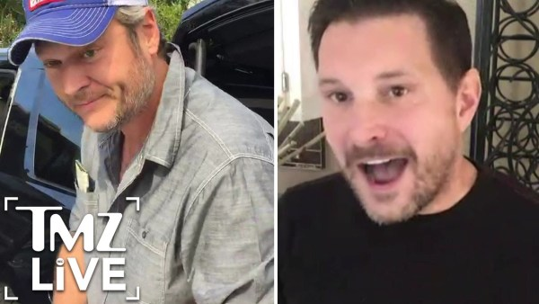 BLAKE SHELTON'S A Fan Of TY HERNDON, Says His Sexuality is Irrelevant (TMZ Live)