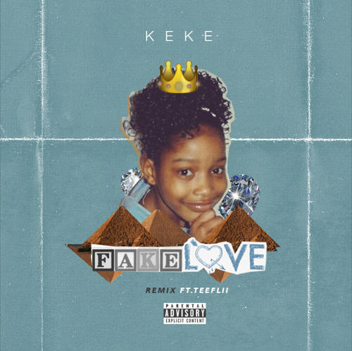 "New Music: Keke Palmer – ""Fake Love"" (Remix) Ft. TeeFlii [Audio]"