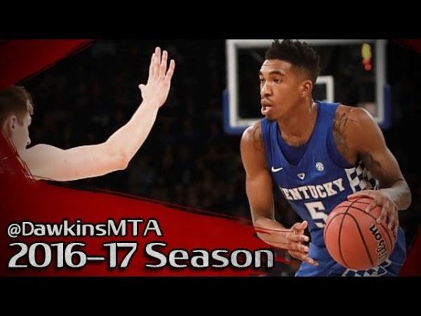 Malik Monk Full Highlights 2016.11.15 Kentucky vs Michigan State – 23 Pts, 7 Threes!