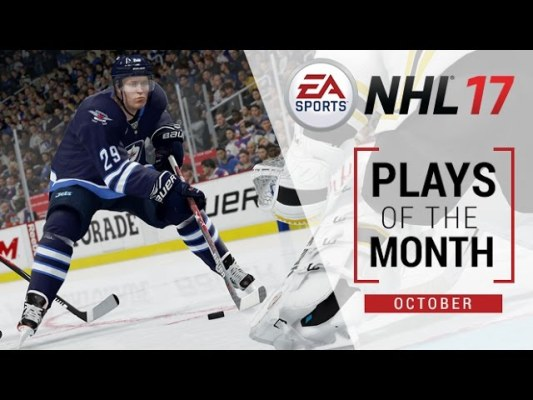 NHL 17 | Plays of the Month – October | Xbox One, PS4