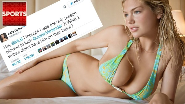 Only Kate Upton Is Allowed to F*ck Verlander