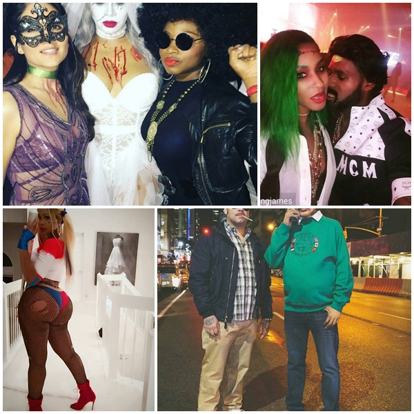 Celebrity Halloween 2016 Costumes from Lebron James, Fabolous, Mariah Carey, Chris Brown & More [Photos & Video]