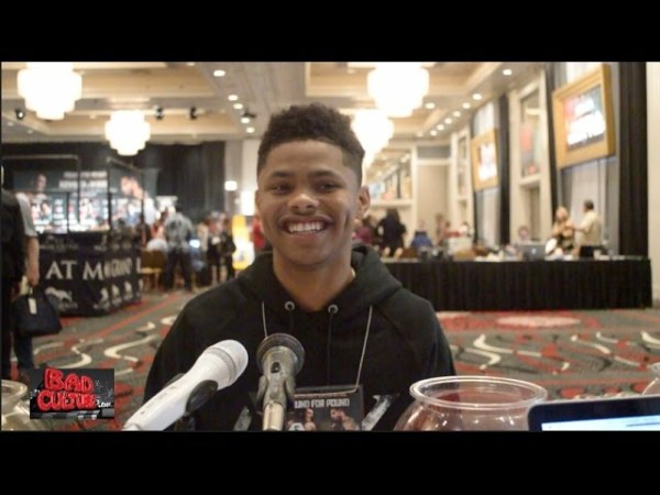 Shakur Stevenson On Who He's Signing With & Rebounding From Olympic Loss
