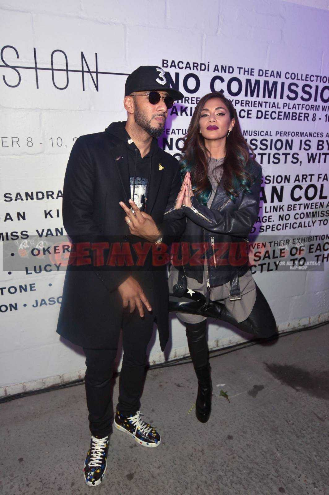 Celebrity Sightings: NICOLE SCHERZINGER, EMELI SANDE, NICK GRIMSHAW, NAUGHTY BOY, SWIZZ BEATZ AND BLOOD ORANGE DESCEND ON THE ARCHES, SOUTHWARK FOR EUROPE'S FIRST EVER BACARDI NO COMMISSION EVENT [PHOTOS]