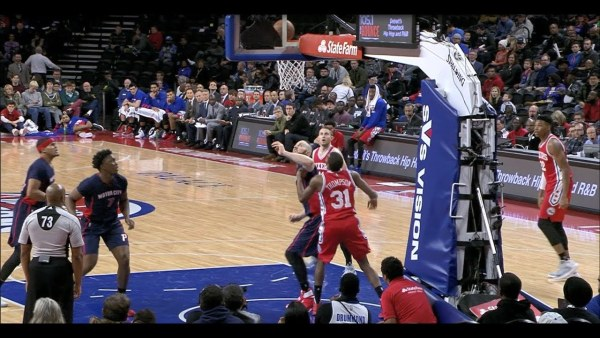 76ers Score with a Little Luck   12.11.16
