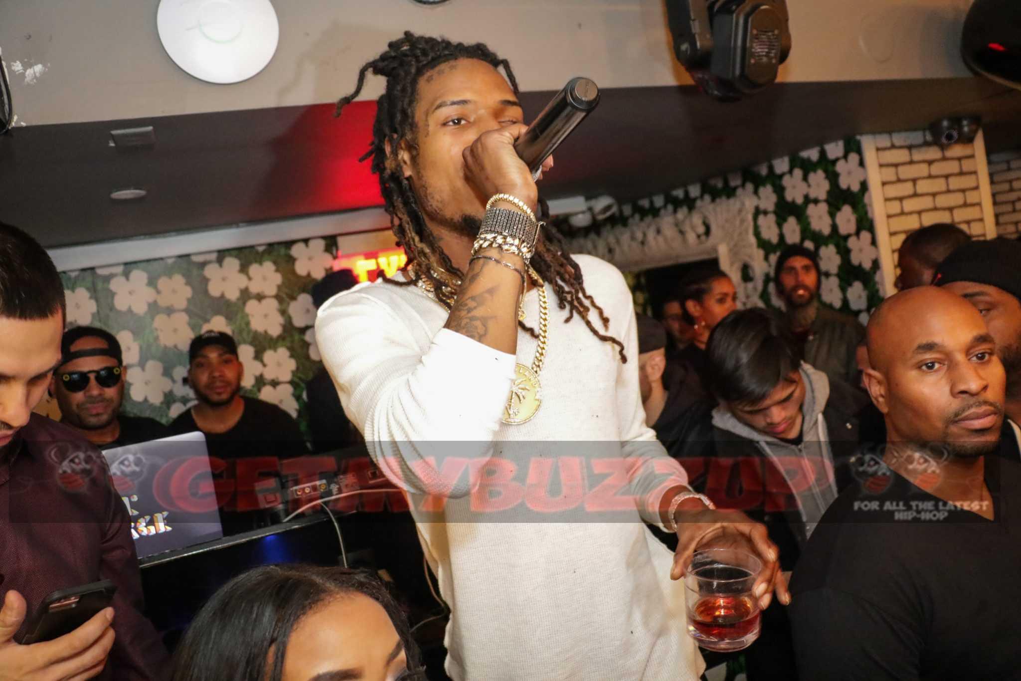 Celebrity Sightings: Fetty Wap Parties At Catch NY [Photos]