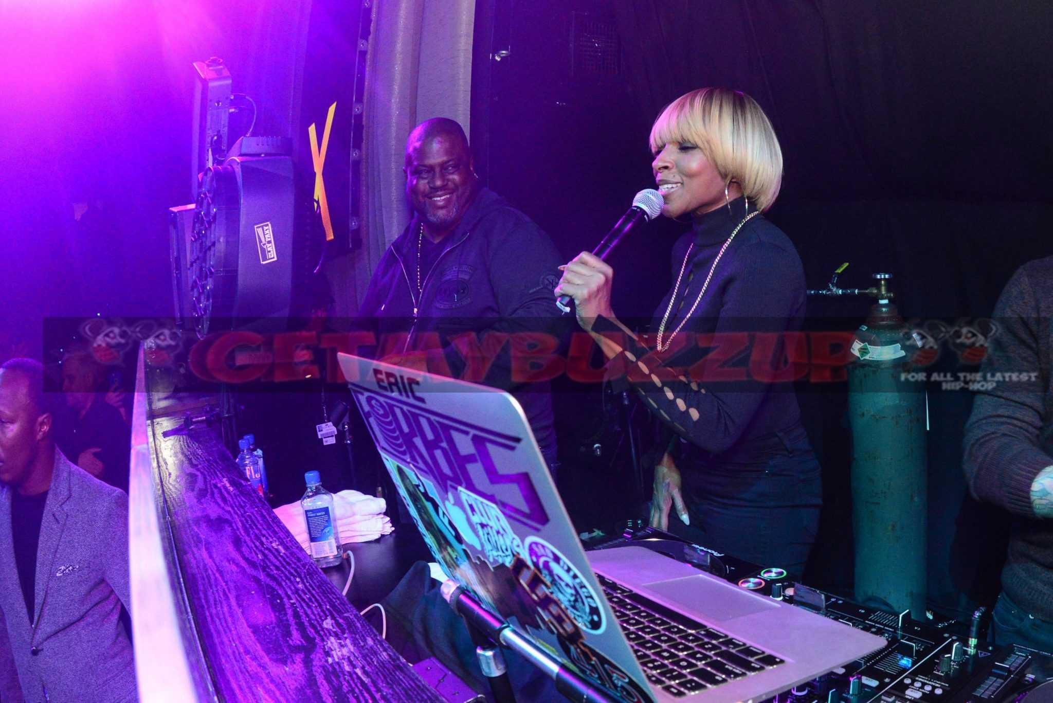 Celebrity Sightings: Mary J. Blige Brought Heart and Soul to LAX Nightclub inside Luxor Hotel and Casino for Official After Party [Photos]