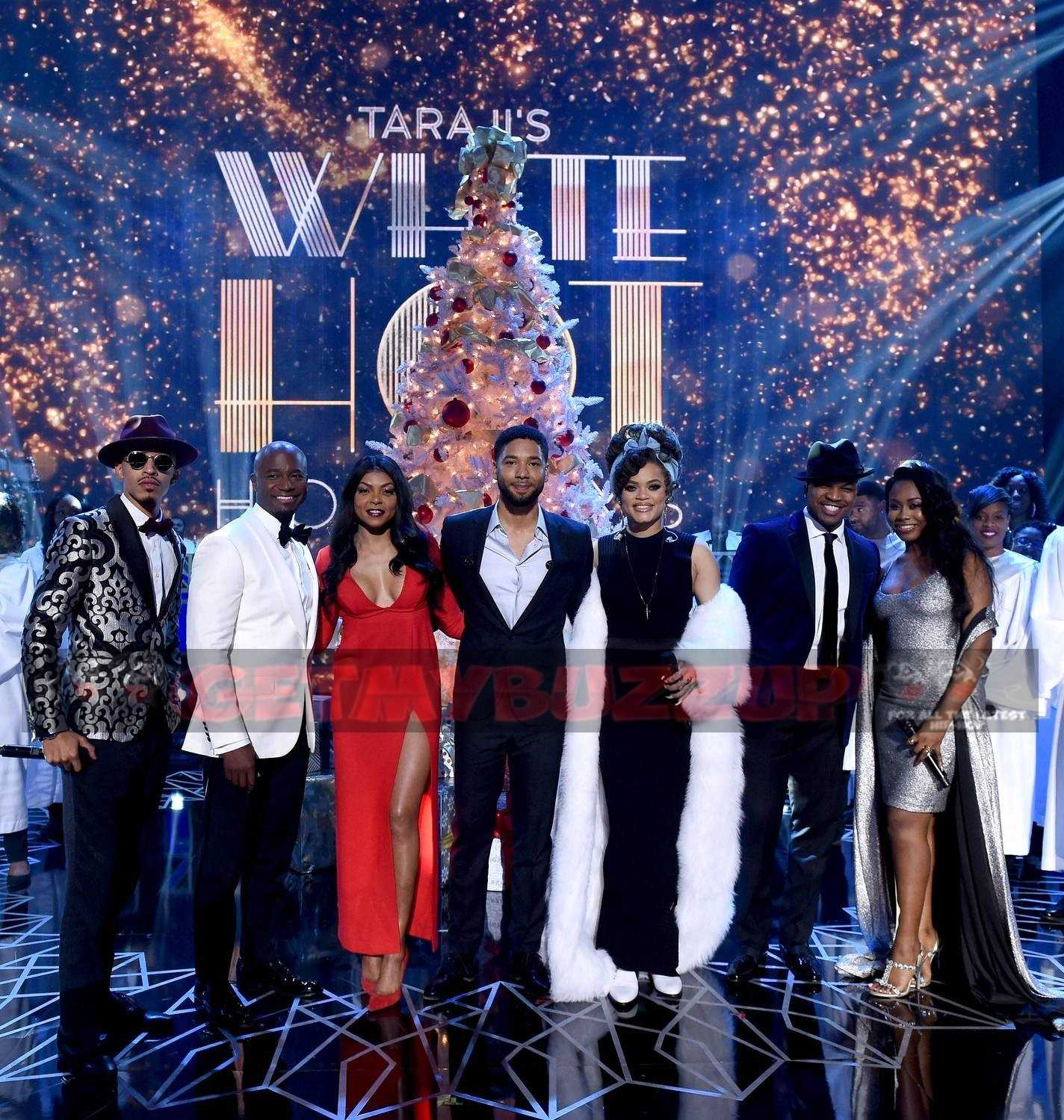 "October London Performing ""Santa Drop Me Some Loot"" on Taraji's White Hot Holidays on FOX [Photos]"