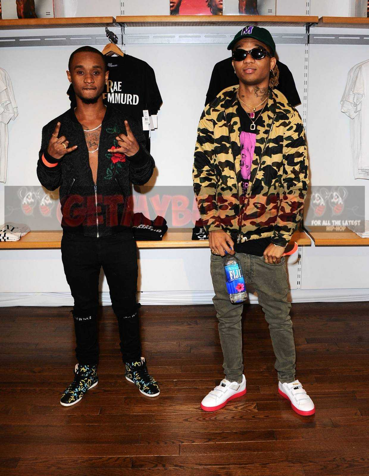 "Rae Sremmurd Surprise Fans at Interscope Records and Bravado ""Wear. Music."" Pop-Up Experience! [Photos]"