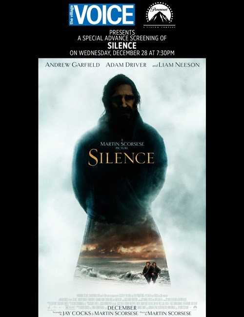 "Enter to Win Tickets to the Movie ""SILENCE"" #SilenceMovie [Contest]"