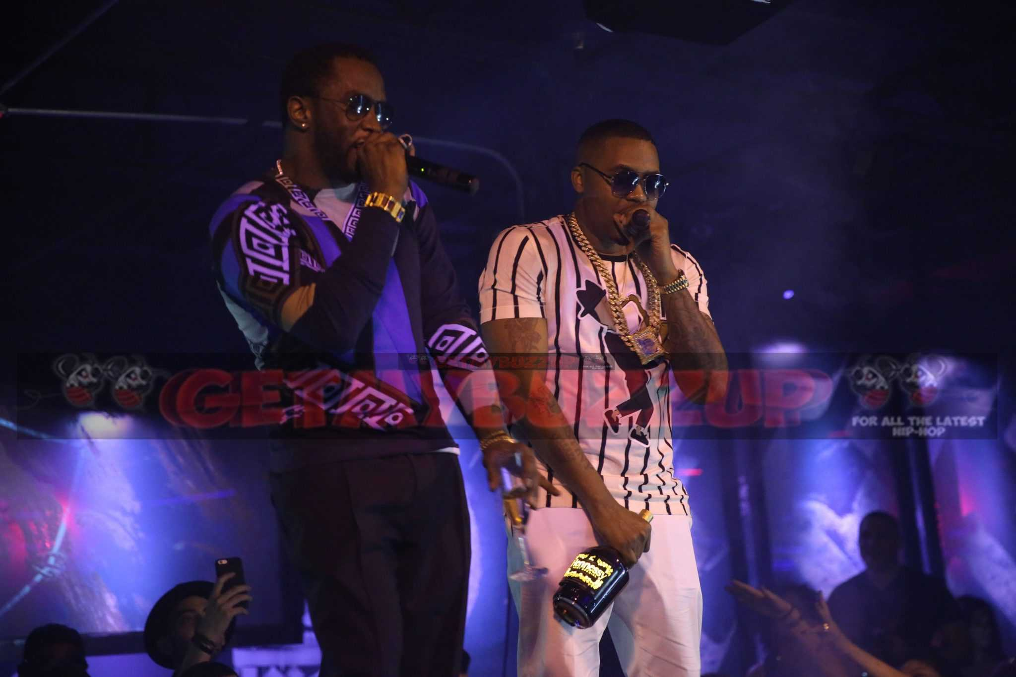Celebrity Sighting: Diddy Surprises Crowd and Performs with Nas at 1 Oak in Miami Art Basel #ArtbaselMiami