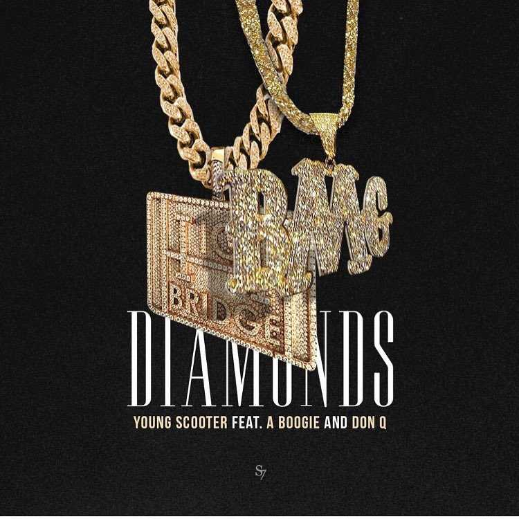 "Young Scooter – ""Diamonds"" Feat. A Boogie & Don Q [Audio]"