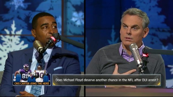 Cris Carter: Hard to believe Patriots didn't know extent of Michael Floyd's DUI arrest | THE HERD