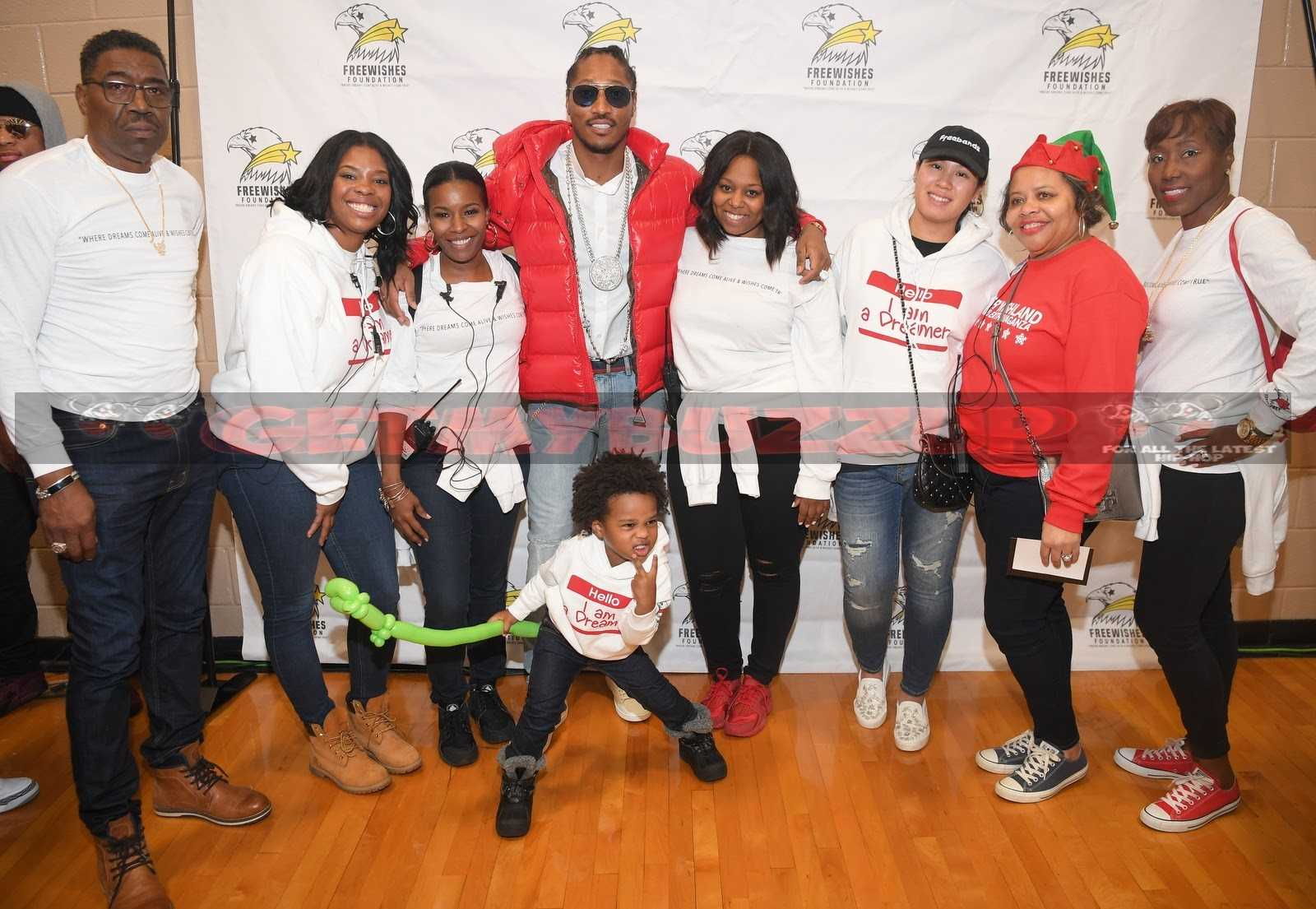 CELEBRITY SIGHTINGS: FUTURE AND SON FUTURE ZAHIR HOST ANNUAL FREEWISHES WINTER WISHLAND EVENT #FreeWishes [PHOTOS]