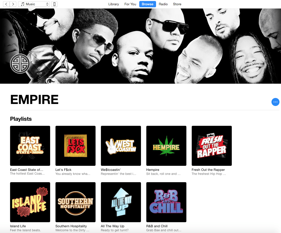 EMPIRE becomes official Apple Music curator, launches 9 new playlists
