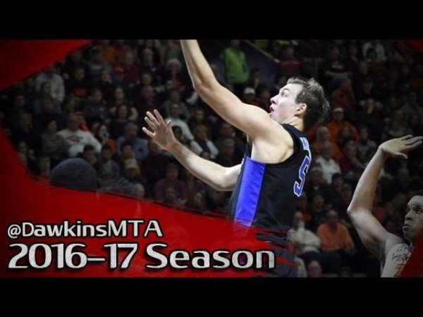 Luke Kennard Full Highlights 2016.12.31 Duke vs Virginia Tech – 34 Pts.