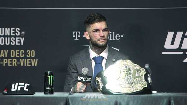 UFC 207 Post-Fight Press Conference: Cody Garbrandt