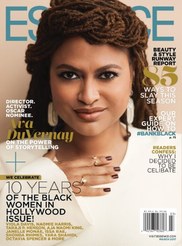 "Ava DuVernay Graces Essence's ""Black Women in Hollywood"" March Cover! [Mag Cover]"