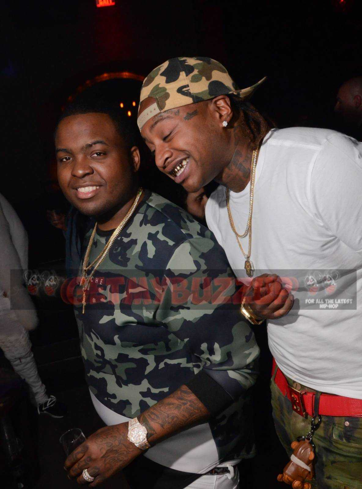 Celeb Sighting: Sean Kingston at Marquee Nightclub Monday #MarqueeMondays [Photos]