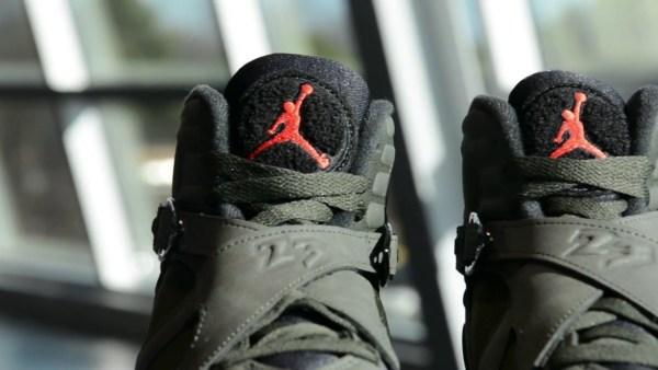 """Detailed Look at the Air Jordan Retro 8 """"Sequoia"""""""