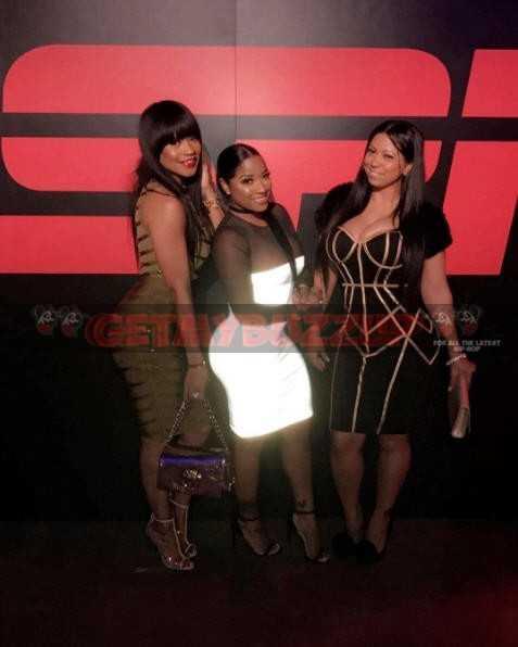 Celeb Sightings: Toya Wright Hits Up The ESPN Party #superbowl2017 [Photos]