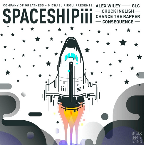 "Alex Wiley Ft. Consequence, Chance the Rapper, GLC and Chuck Inglish – ""Spaceship III"" [Audio]"