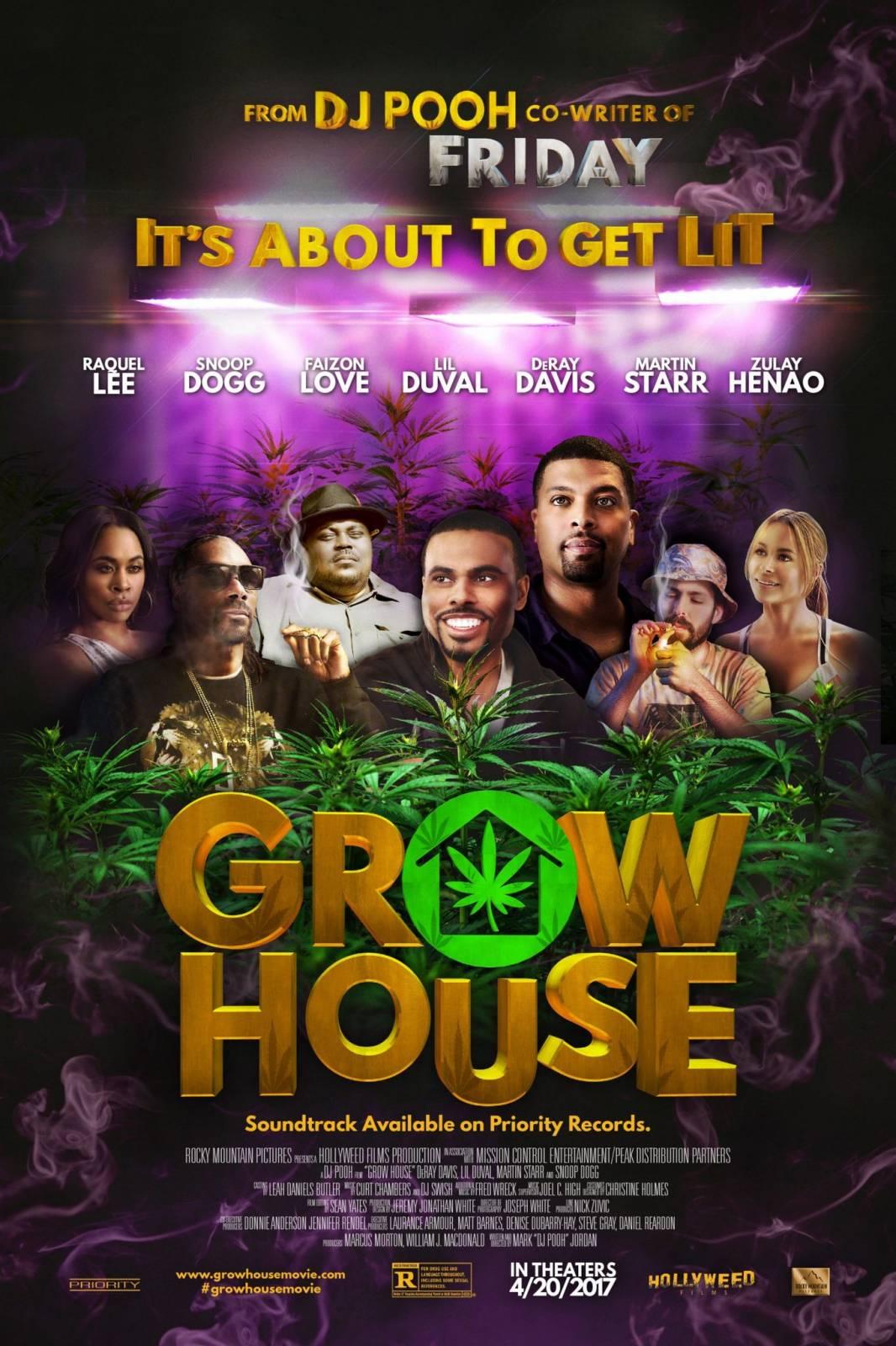 """Grow House"" – 420 Film starring Snoop Dogg, DeRay Davis, Lil' Duval [Video]"