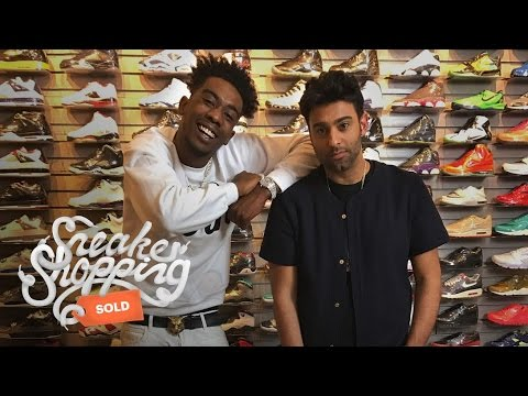 Desiigner Goes Sneaker Shopping at Flight Club [Video]