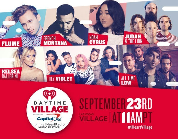 iHeartRadio Daytime Village Tickets Are On Sale Now