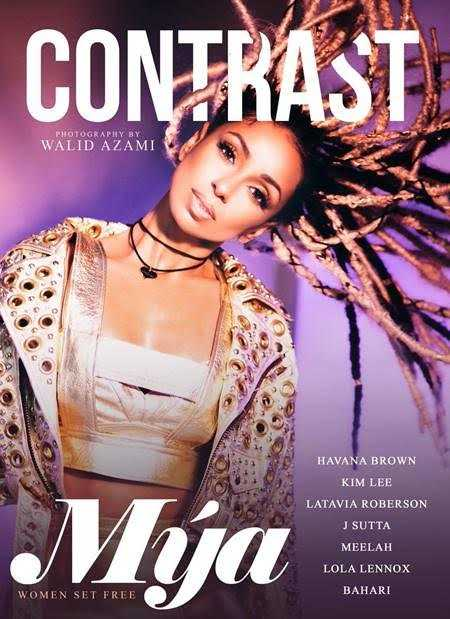 Singer Mya Covers Contrast Magazine for Women's History Month [Magazine Cover]