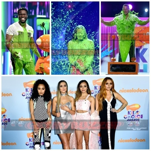 Ellen DeGeneres, Fifth Harmony And More Win Big at Nickelodeon's 2017 Kids' Choice Awards #KCA [Photos]
